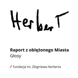 Herbert Raport z oblężonego miasta. Głosy