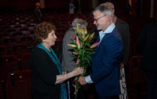 Katarzyna Herbert, Laureat Durs Grünbein