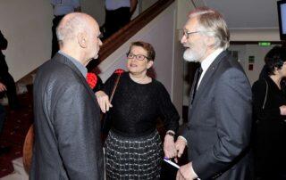 Adam Zagajewski, Barbara Toruńczyk, Andrzej Seweryn