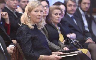 Maria Dzieduszycka - Prezes Zarządu Fundacji im. Zbigniewa Herberta