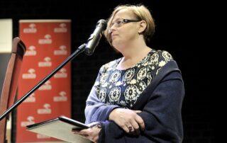 Alina Gużyńska - Dyrektor Biura Public Affairs PKN ORLEN, sponsora nagrody