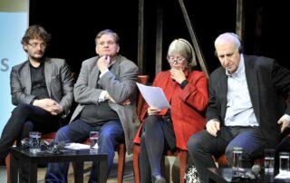 Andrzej Franaszek, Jarosław Mikołajewski, Agneta Pleijel, Edward Hirsch