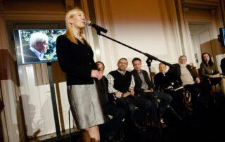 Maria Dzieduszycka, Prezes Fundacji im. Zbigniewa Herberta