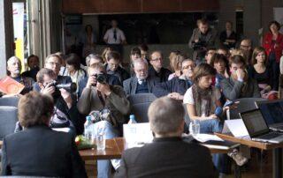 dziennikarze i goście Fundacji