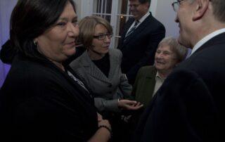 Prezydentowa Anna Komorowska, Krystyna Rycerska, Izabela Dzieduszycka, Minister Maciej Klimczak