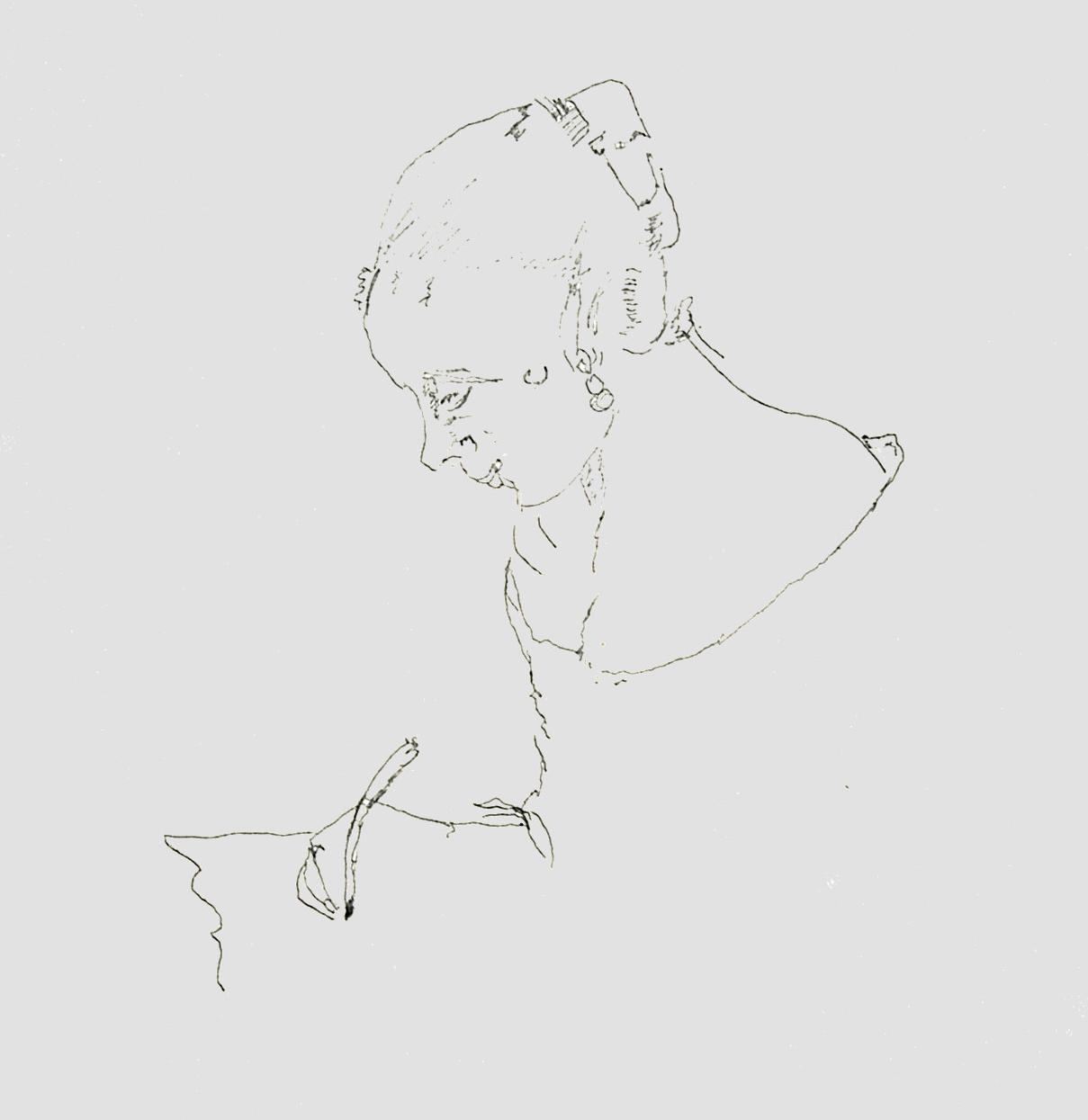 Dziewczyna Pisząca List