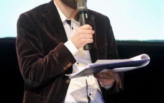 red. Kamil Dąbrowa - prowadzący konferencję