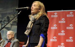 Maria Dzieduszycka - Prezes Fundacji im. Zbigniewa Herberta