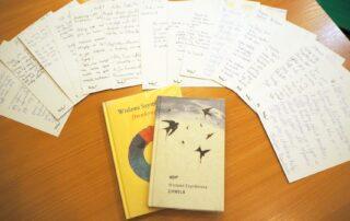 Tom poezji i przepisane wiersze