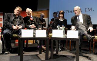 Członkowie jury: Jarosław Mikołajewski, Jume Vallcorba Plana, Lidija Dimkovska, Edward Hirsch