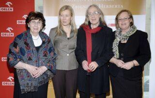 Katarzyna Herbert, Maria Dzieduszycka, Maja Komorowska, Alina Gużyńska