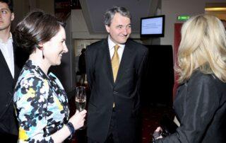 Emilia Naumann, Jerzy Naumann, członkowie Rady Fundacji im. Zbigniewa Herberta