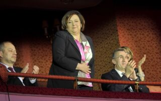 Powitanie Pierwszej Damy RP, Pani Anny Komorowskiej