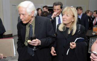 W.S. Merwin z żoną Paulą