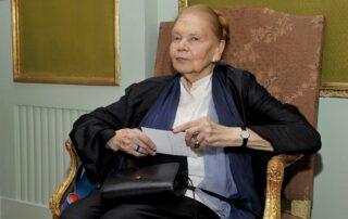 Julia Hartwig, członek Rady Fundacji im. Zbigniewa Herberta