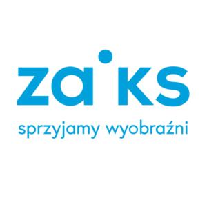 Logo ZAiKS. Sprzyjamy wyobraźni